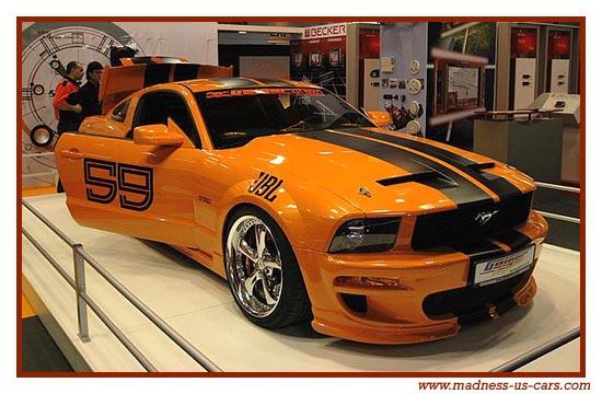 Les voitures am ricaines du paris tuning show 2007 - Voiture tuning images ...