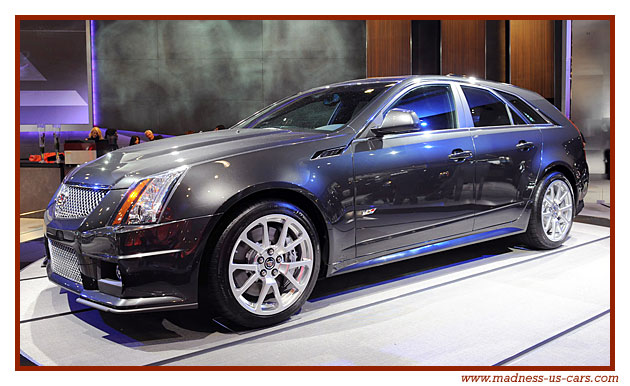 cadillac cts v sport wagon 2011. Black Bedroom Furniture Sets. Home Design Ideas