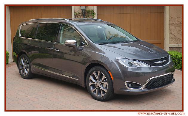 Chrysler pacifica import