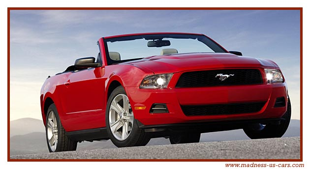 nouvelle ford mustang 2010. Black Bedroom Furniture Sets. Home Design Ideas