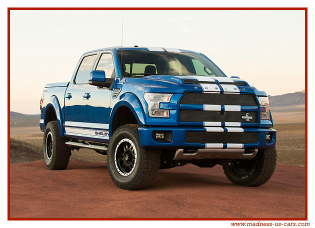 Ford Cobra Truck 2017 >> Shelby F150 2016