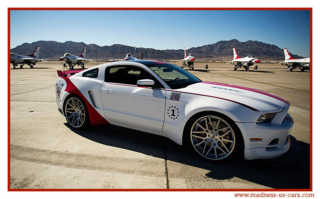 thunderbirds ford mustang 2014. Black Bedroom Furniture Sets. Home Design Ideas