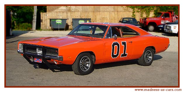 dukes of hazzard sh rif fais moi peur l 39 histoire de la dodge charger rt general lee. Black Bedroom Furniture Sets. Home Design Ideas
