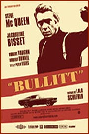 Le film Bullitt avec Steeve Mc Queen