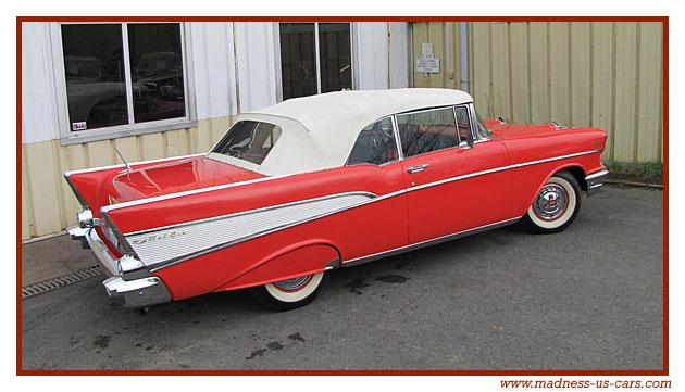 Chevrolet Bel Air Cabriolet 1957
