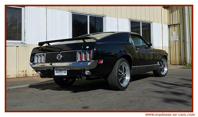 mustang fastback 428 mach 1 super cobra jet 1970. Black Bedroom Furniture Sets. Home Design Ideas