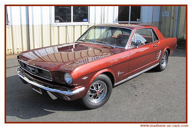 ford mustang coup code a 1966. Black Bedroom Furniture Sets. Home Design Ideas