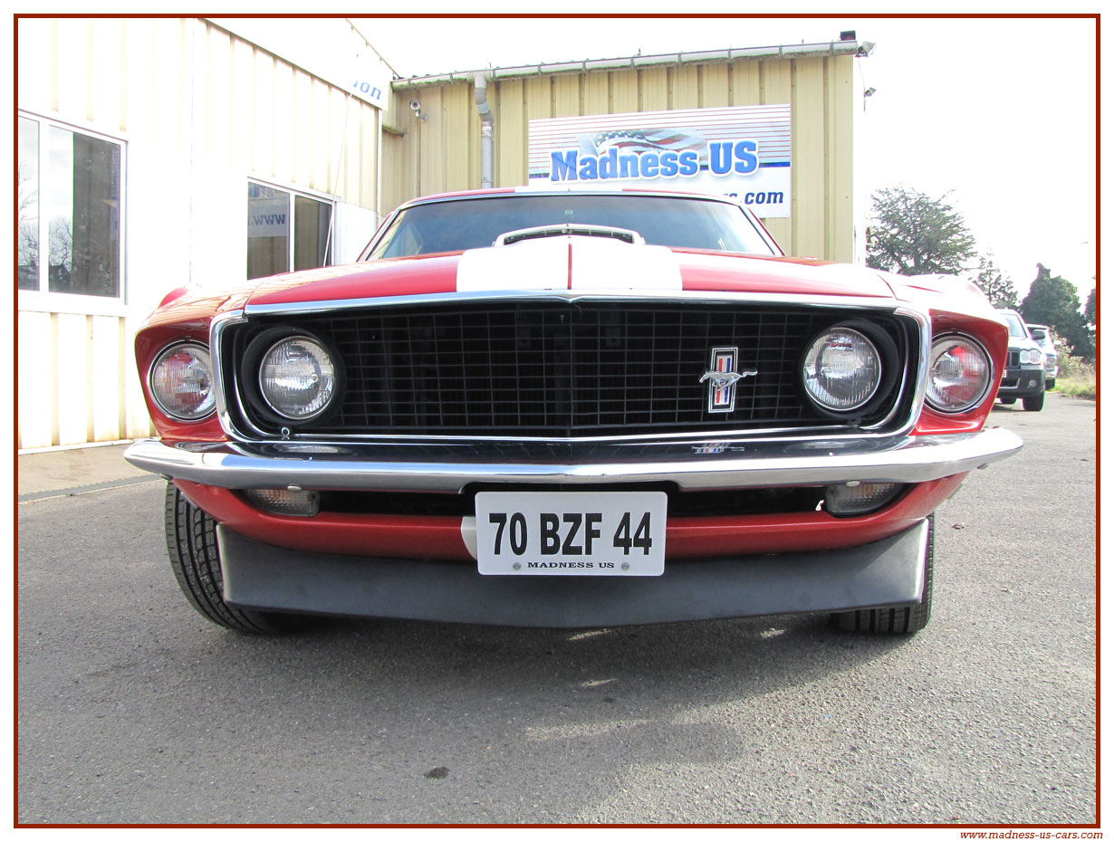 vieille ford mustang