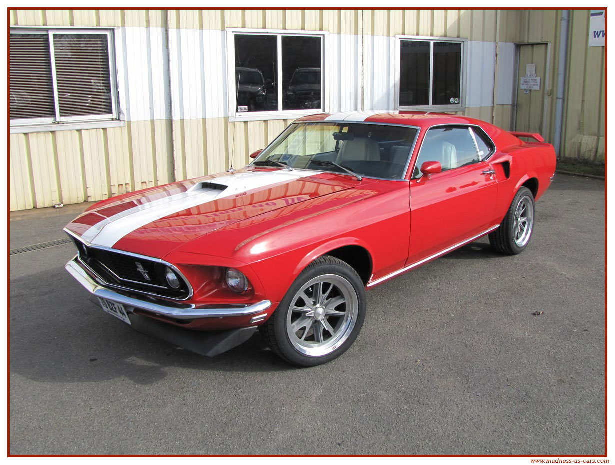 Mustang fa stback 196 9 2