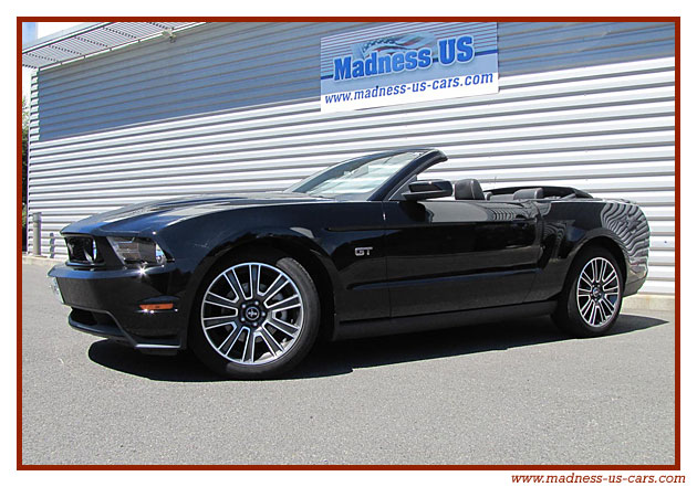 ford mustang gt premium cabriolet 2010. Black Bedroom Furniture Sets. Home Design Ideas