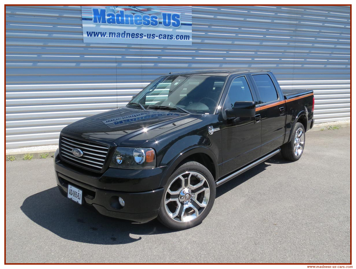2008 Ford F 150 Harley Davidson Car Pictures F150 Photo 1