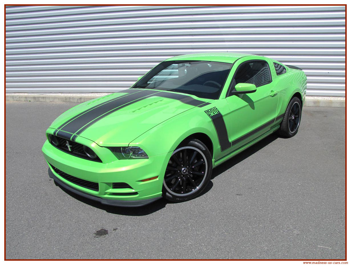 ford mustang boss 302 2013. Black Bedroom Furniture Sets. Home Design Ideas