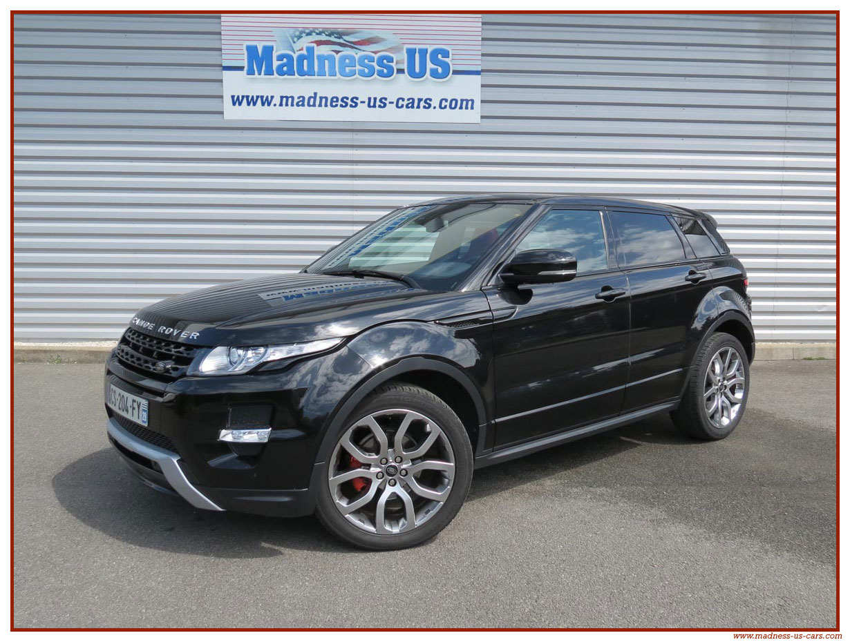 range rover evoque sd4 dynamic 2013. Black Bedroom Furniture Sets. Home Design Ideas